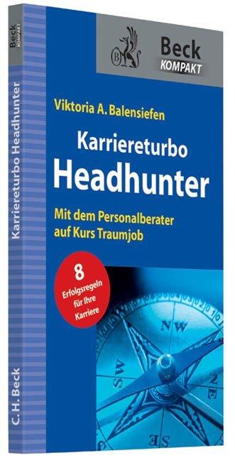 Karriereturbo Headhunter als Buch