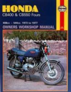 Honda CB400 & CB550 Fours (73 - 77) als Taschenbuch