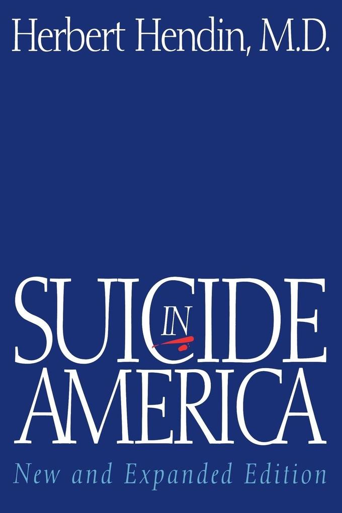Suicide in America (New and Expanded) als Taschenbuch