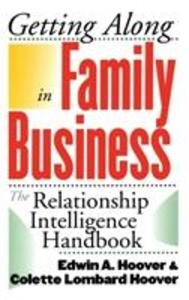 Getting Along in Family Business als Buch