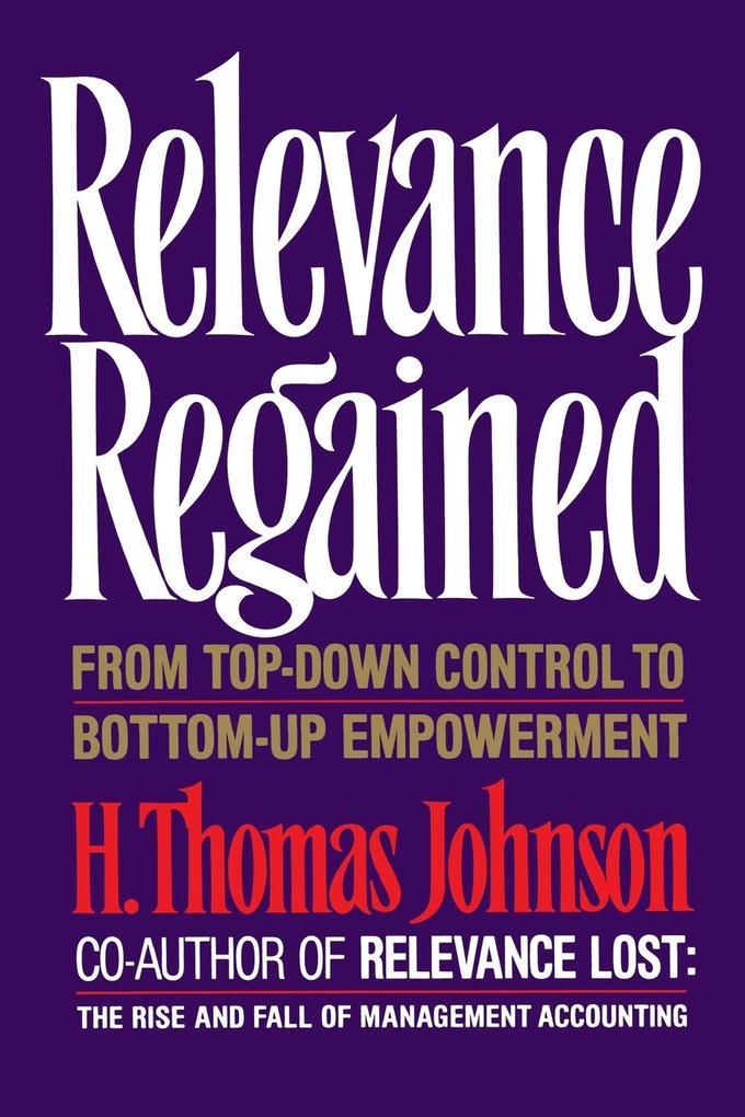 Relevance Regained als Taschenbuch