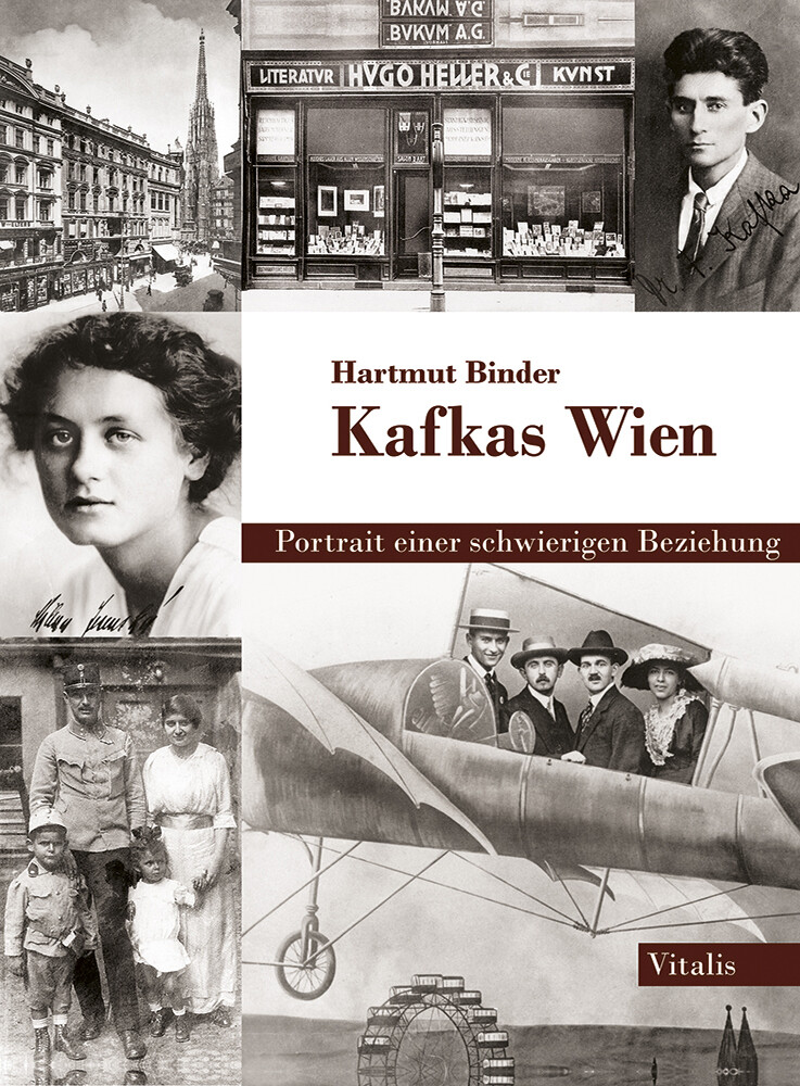 Kafkas Wien als Buch von Hartmut Binder