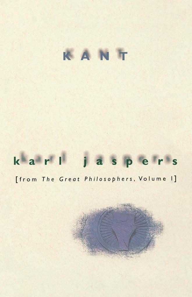 Kant: From the Great Philosophers, Volume 1 als Taschenbuch