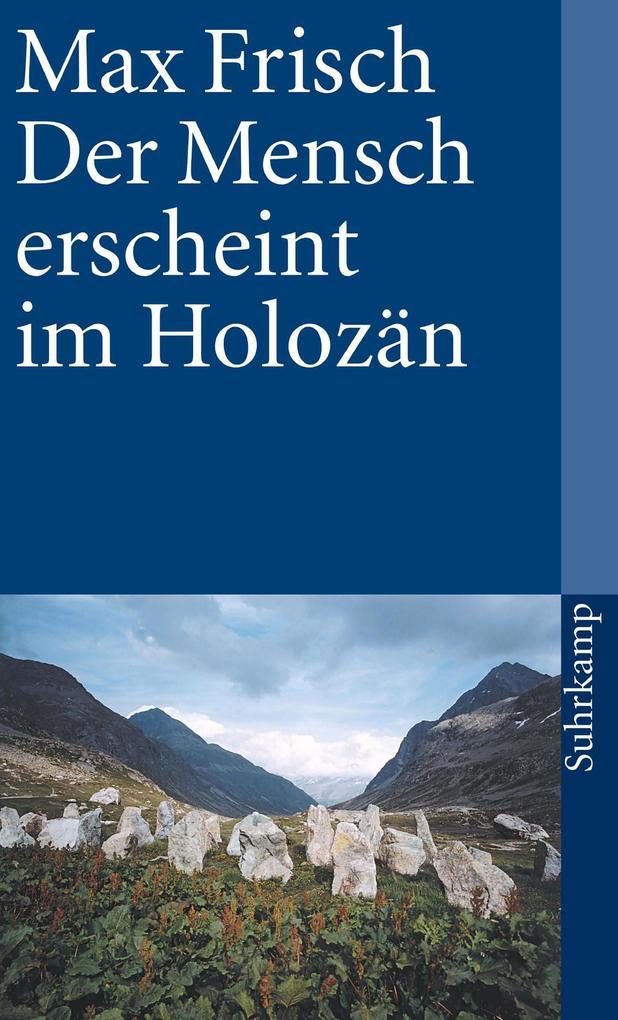 Der Mensch erscheint im Holozän als eBook