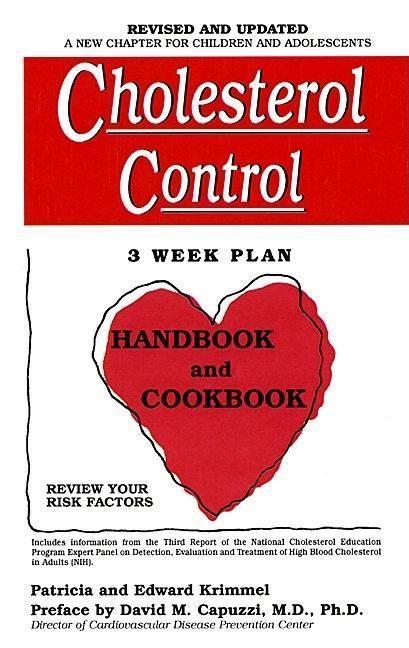 Cholesterol Control 3-Week Plan Handbook and Cookbook als Taschenbuch