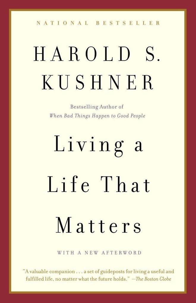 Living a Life That Matters als Taschenbuch