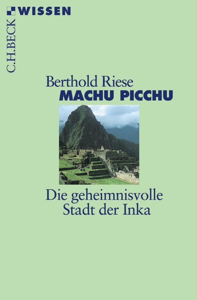 Machu Picchu als eBook