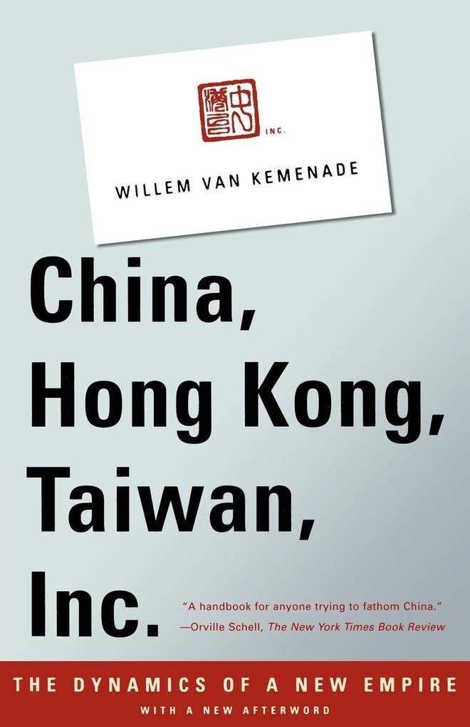 China, Hong Kong, Taiwan, Inc. als Taschenbuch