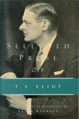 Selected Prose of T.S. Eliot als Taschenbuch