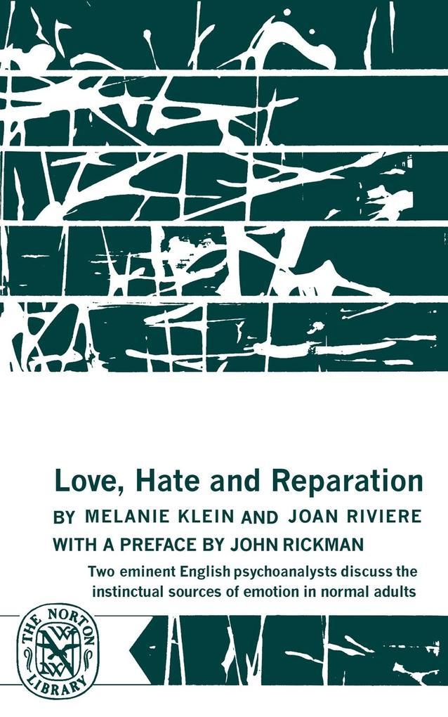Love, Hate and Reparation als Taschenbuch