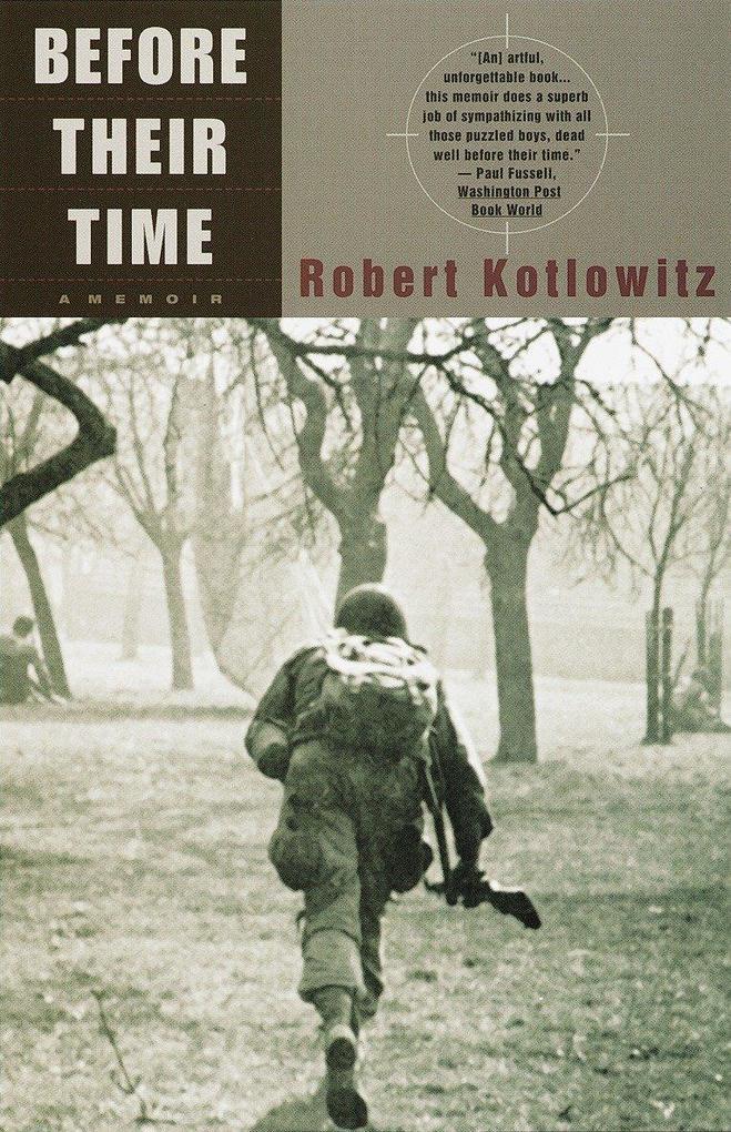 Before Their Time: A Memoir als Taschenbuch