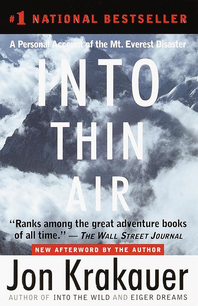Into Thin Air als Taschenbuch