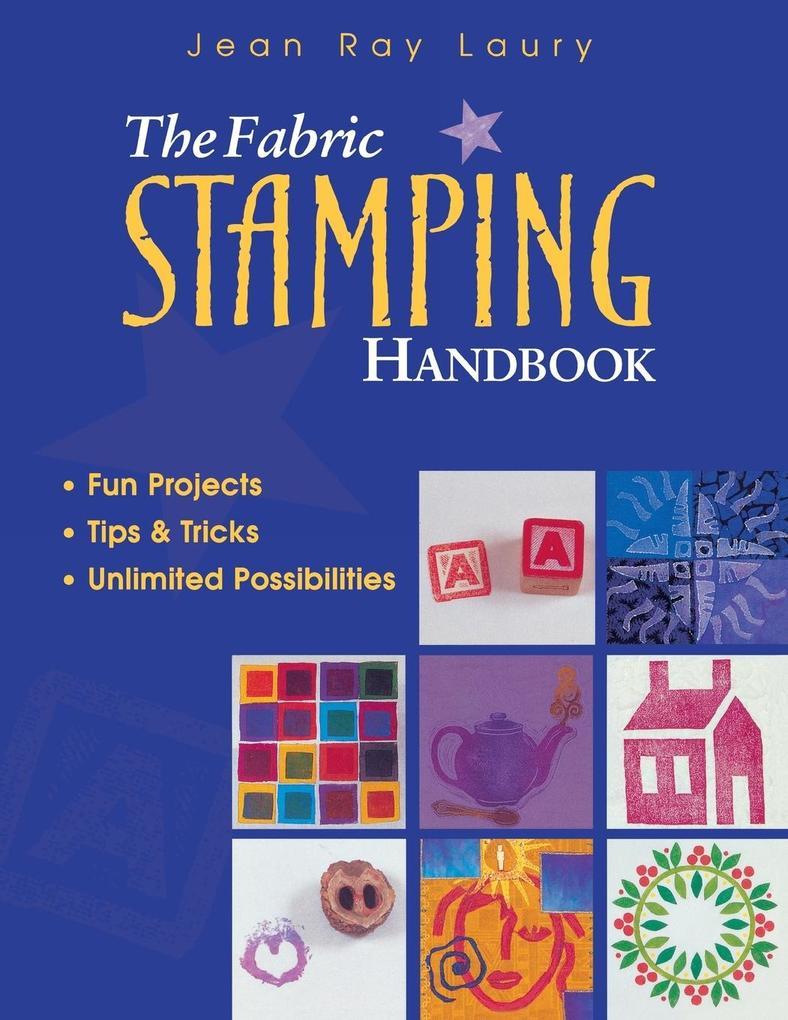 Fabric Stamping Handbook - Print on Demand Edition als Taschenbuch