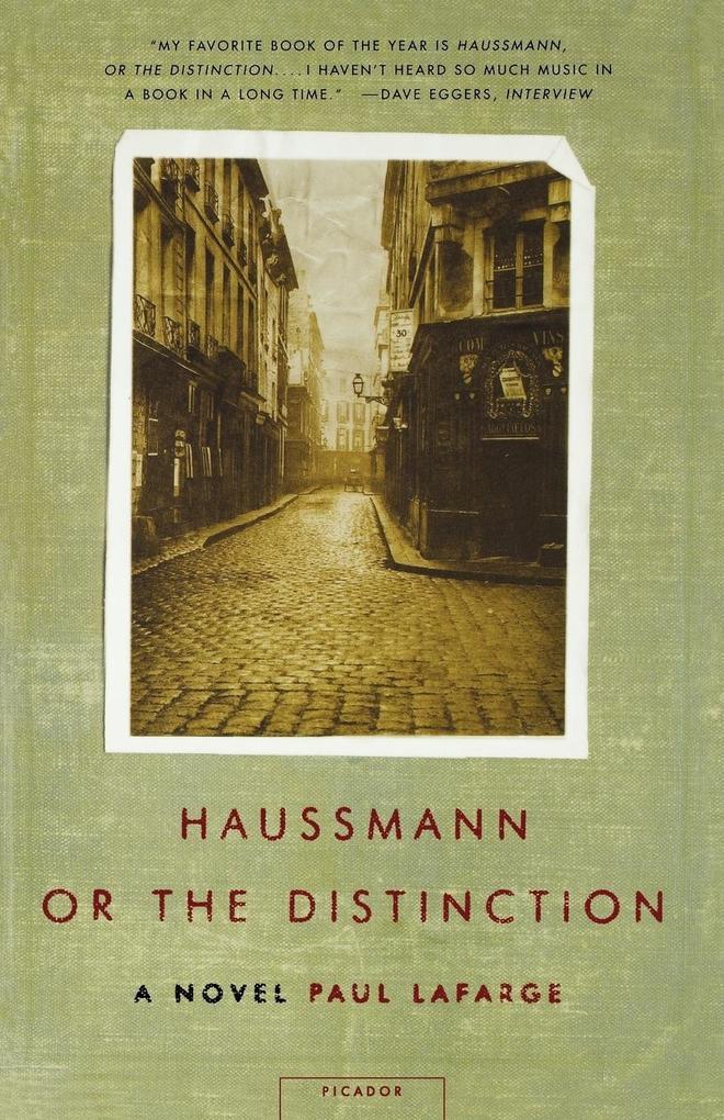 Haussmann, or the Distinction als Taschenbuch