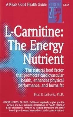 L-Carnitine als Taschenbuch
