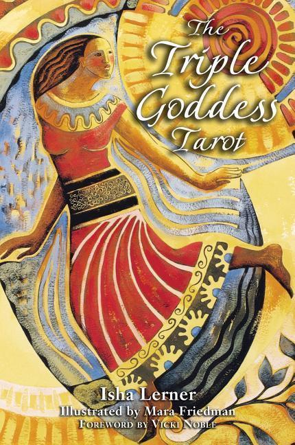 Triple Goddess Tarot als Taschenbuch