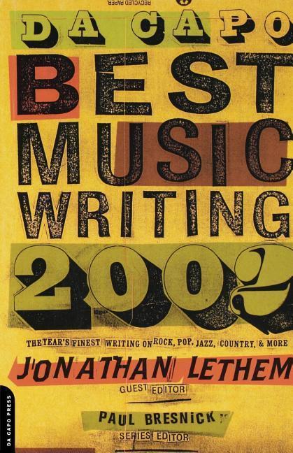 Da Capo Best Music Writing als Taschenbuch