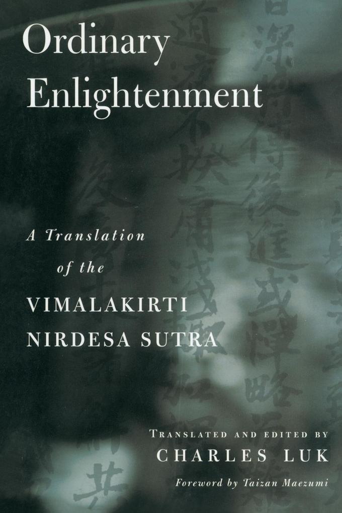 Ordinary Enlightenment als Taschenbuch