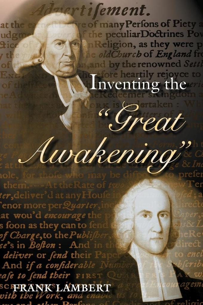 """Inventing the """"Great Awakening"""" als Taschenbuch"""
