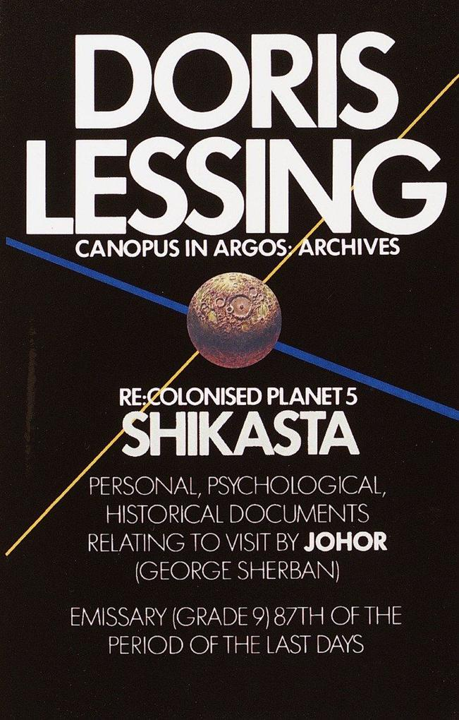 Shikasta: Re, Colonised Planet 5 als Buch