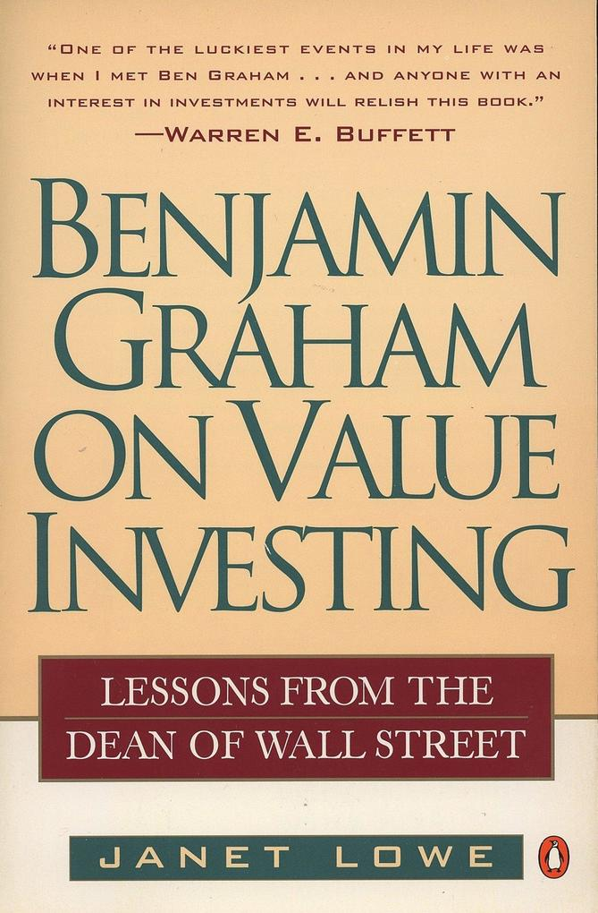 Benjamin Graham on Value Investing: Lessons from the Dean of Wall Street als Taschenbuch