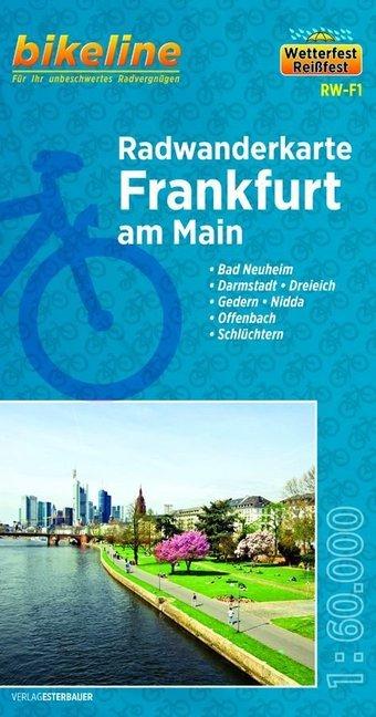 Bikeline Radwanderkarte Frankfurt/Main 1 : 60 000 als Buch von