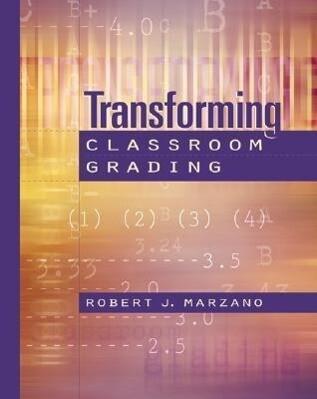 Transforming Classroom Grading als Taschenbuch