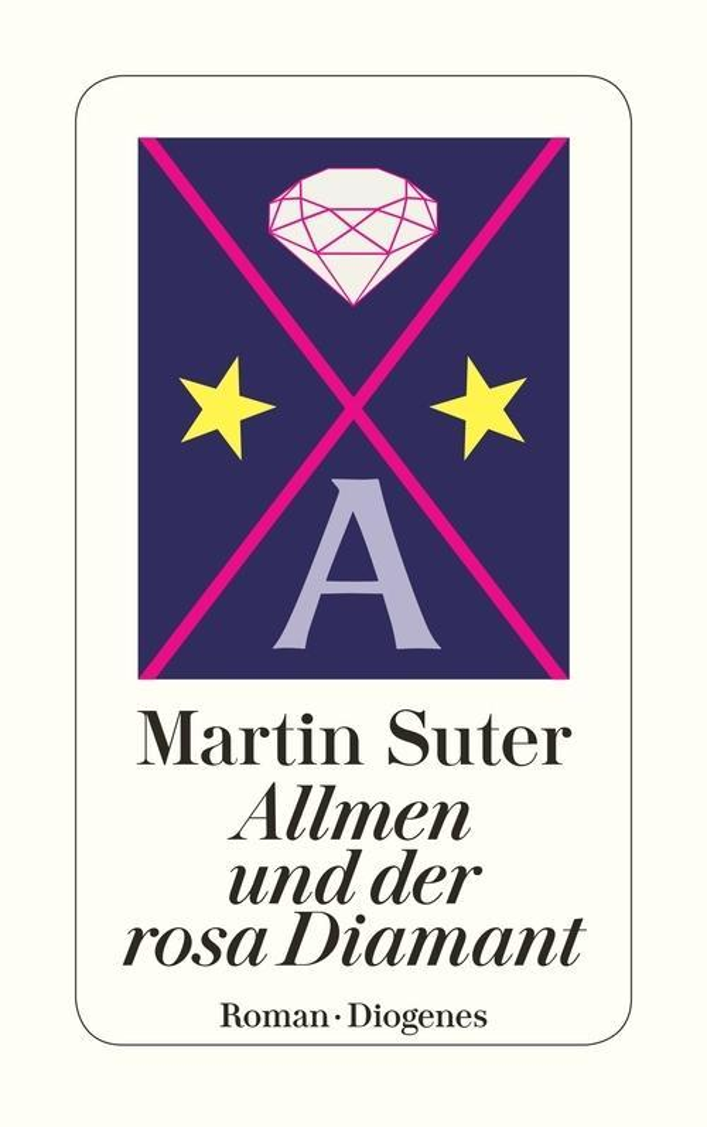 Allmen und der rosa Diamant als eBook