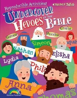 Undercover Heroes of the Bible Grades 5-6 als Taschenbuch