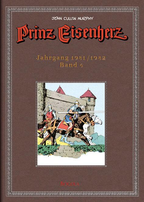 Prinz Eisenherz. Murphy-Jahre / Jahrgang 1981/1982 als Buch