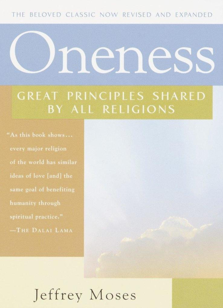 Oneness: Great Principles Shared by All Religions als Taschenbuch