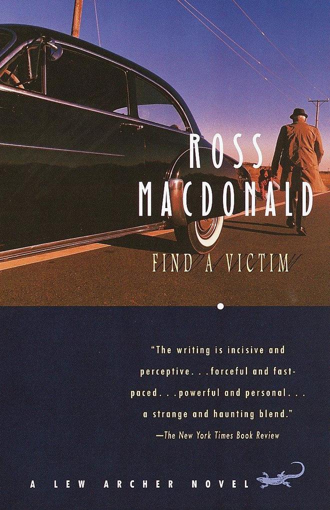 Find a Victim: A Lew Archer Novel als Taschenbuch