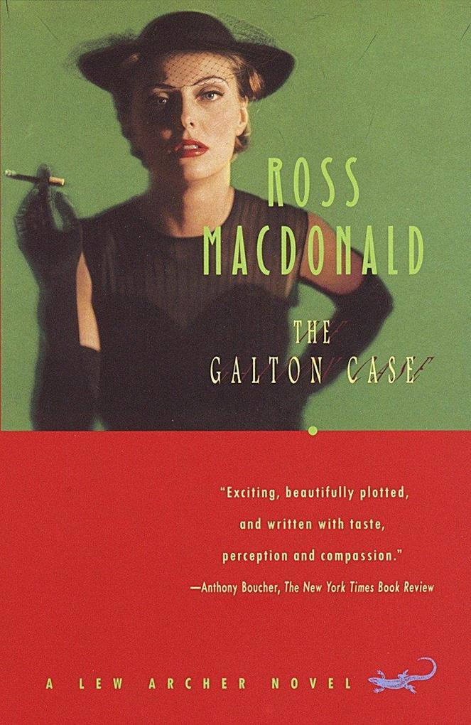 The Galton Case: A Lew Archer Novel als Taschenbuch