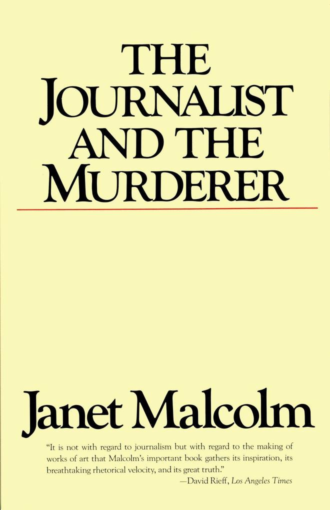 The Journalist and the Murderer als Taschenbuch