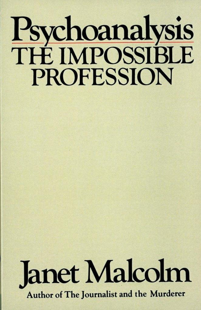 Psychoanalysis als Taschenbuch