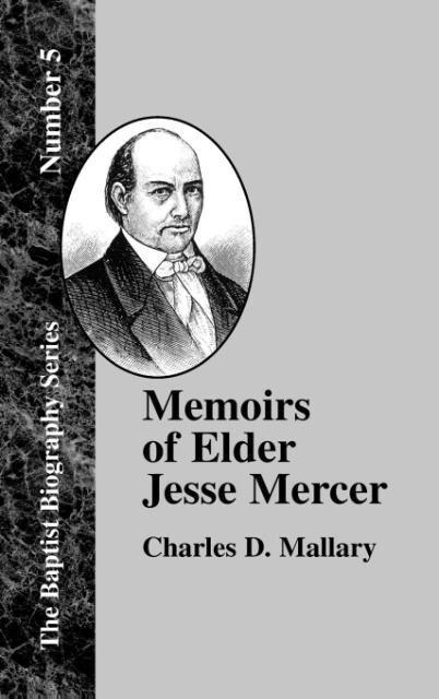 Memoirs of Elder Jesse Mercer als Buch