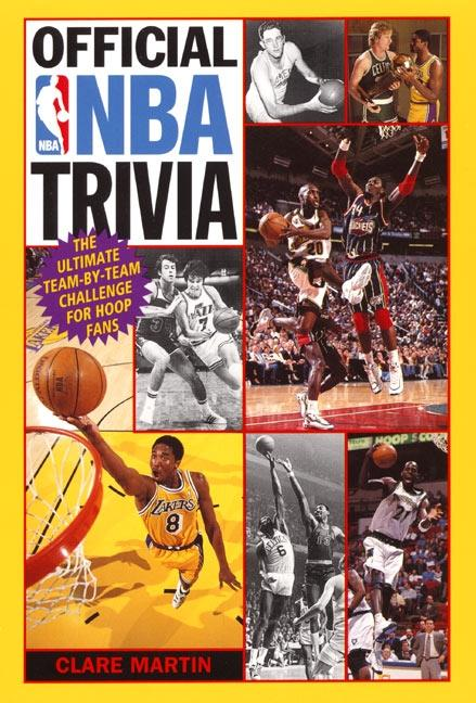 Official NBA Trivia: The Ultimate Team-By-Team Challenge for Hoop Fans als Taschenbuch