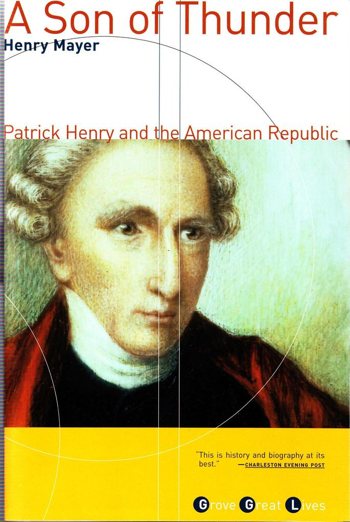 A Son of Thunder: Patrick Henry and the American Republic als Taschenbuch