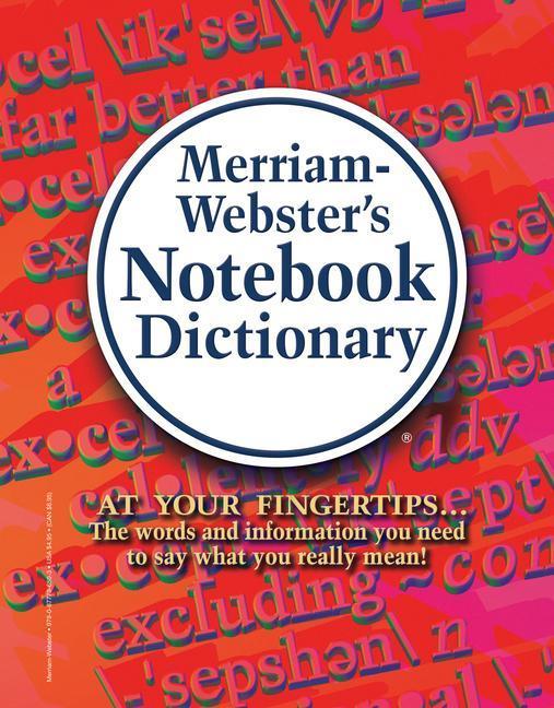 Merriam-Webster's Notebook Dictionary als Taschenbuch