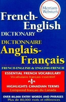 Merriam-Webster's French-English Dictionary als Taschenbuch