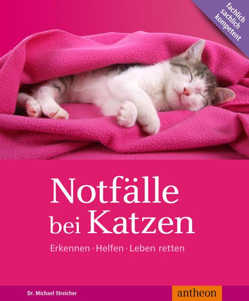 Notfälle bei Katzen als Buch