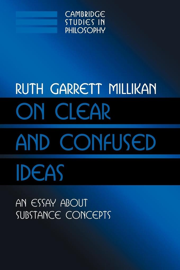 On Clear and Confused Ideas: An Essay about Substance Concepts als Buch