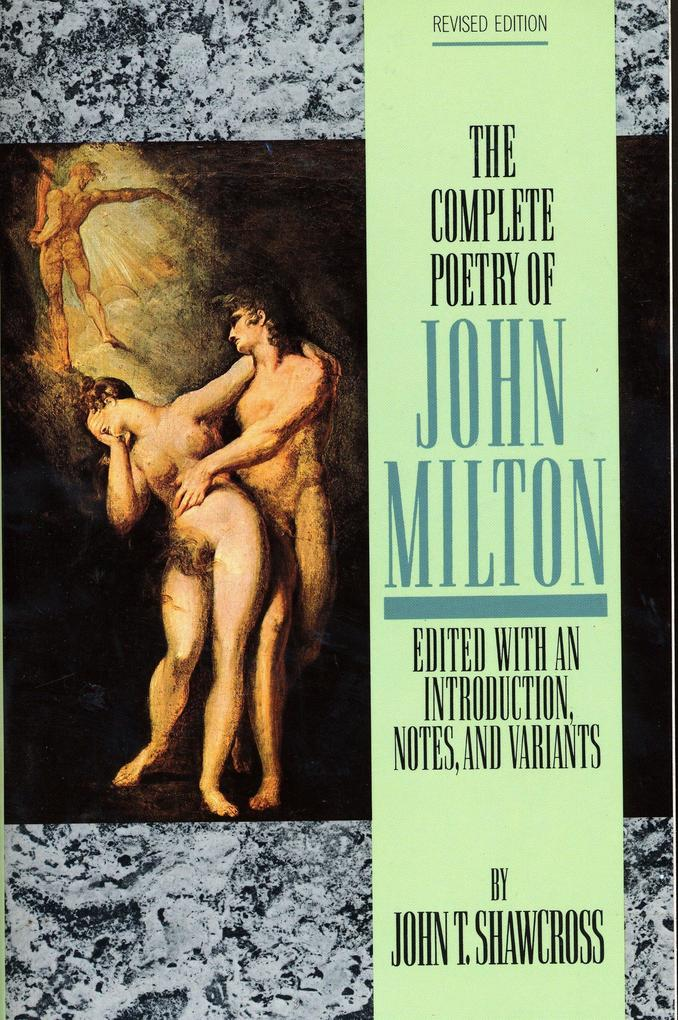 The Complete Poetry of John Milton als Taschenbuch