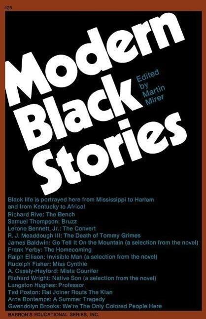 Modern Black Stories: With Study Aid als Taschenbuch