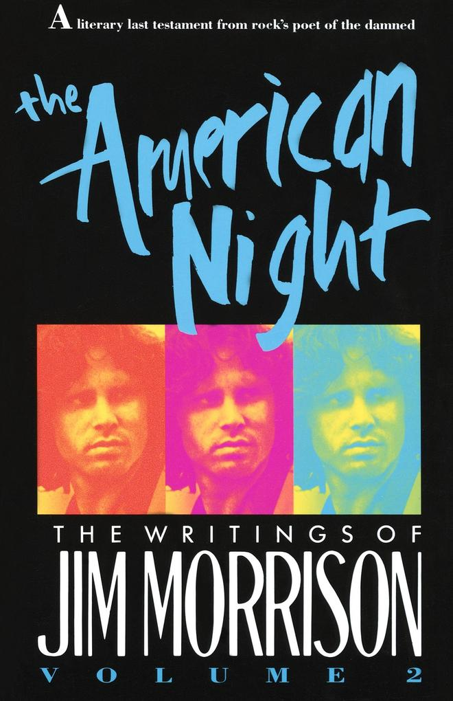 The American Night: The Writings of Jim Morrison als Taschenbuch