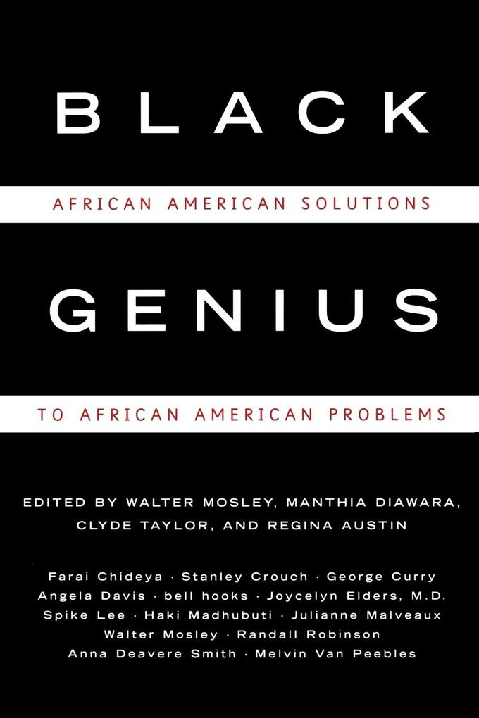 Black Genius: African-American Solutions to African-American Problems als Taschenbuch
