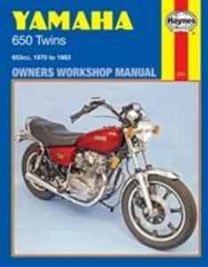 Yamaha 650 Twin 1970-83 Owners Workshop Manual als Taschenbuch