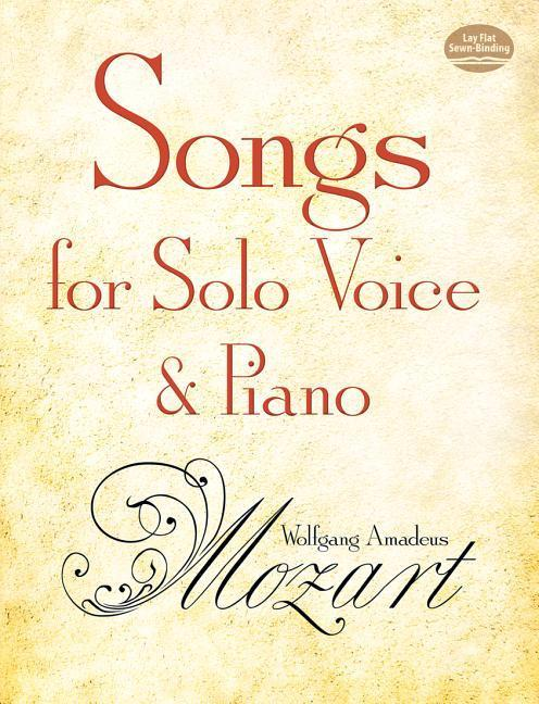 Songs for Solo Voice and Piano als Taschenbuch