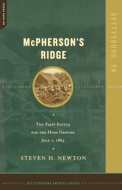McPherson's Ridge: The First Battle for the High Ground, July 1, 1863 als Taschenbuch