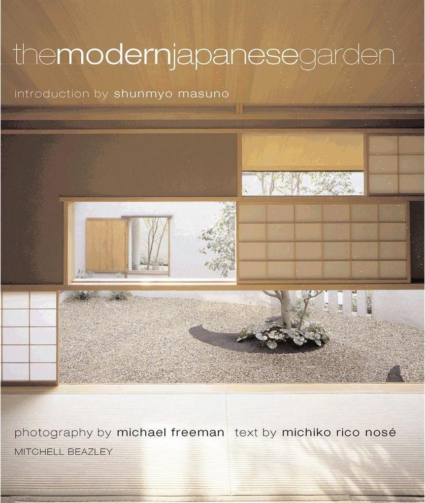Modern Japanese Garden als Buch